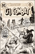 Original Comic Art:Covers, Joe Kubert G.I. Combat #180 Cover Original Art (DC, 1975)....