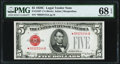Small Size:Legal Tender Notes, Fr. 1528* $5 1928C Legal Tender Note. PMG Superb Gem Unc 68 EPQ.. ...