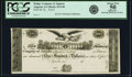Obsoletes By State:Georgia, Augusta, GA- Bridge Company of Augusta $100 18__ G28 Proof PCGS Apparent About New 50.. ...