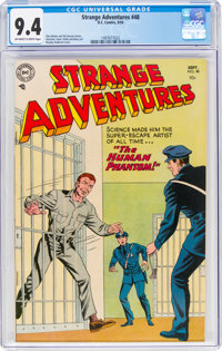 Strange Adventures #48 (DC, 1954) CGC NM 9.4 Off-white to white pages