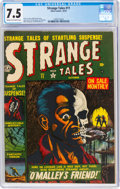 Golden Age (1938-1955):Horror, Strange Tales #11 (Atlas, 1952) CGC VF- 7.5 Cream to off-white pages....