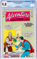Silver Age (1956-1969):Superhero, Adventure Comics #327 (DC, 1964) CGC NM/MT 9.8 White pages....