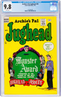 Silver Age (1956-1969):Humor, Archie's Pal Jughead #78 (Archie, 1961) CGC NM/MT 9.8 White pages....