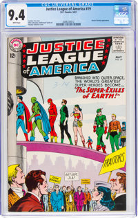 Justice League of America #19 (DC, 1963) CGC NM 9.4 White pages