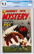 Silver Age (1956-1969):Horror, Journey Into Mystery #71 (Marvel, 1961) CGC NM- 9.2 White pages....