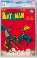 Golden Age (1938-1955):Superhero, Batman #21 (DC, 1944) CGC NM+ 9.6 Off-white to white pages....