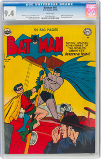 Batman #60 (DC, 1950) CGC NM 9.4 White pages