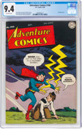 Golden Age (1938-1955):Superhero, Adventure Comics #108 (DC, 1946) CGC NM 9.4 Off-white pages....
