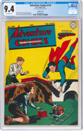 Golden Age (1938-1955):Superhero, Adventure Comics #116 Double Cover (DC, 1947) CGC NM 9.4 Off-white pages....