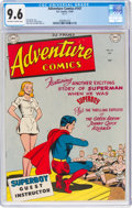 Golden Age (1938-1955):Superhero, Adventure Comics #147 (DC, 1949) CGC NM+ 9.6 Off-white to white pages....