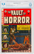 Golden Age (1938-1955):Horror, Vault of Horror #31 Gaines File Copy 8/12 (EC, 1953) CBCS NM/MT 9.8 White pages....
