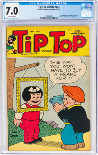 Tip Top Comics #173 (United Feature Syndicate, 1952) CGC FN/VF 7.0 Off-white pages