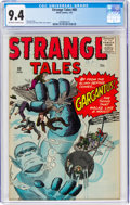 Silver Age (1956-1969):Adventure, Strange Tales #80 (Atlas, 1961) CGC NM 9.4 Off-white to white pages....