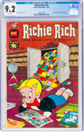 Silver Age (1956-1969):Humor, Richie Rich #14 (Harvey, 1962) CGC NM- 9.2 White pages....