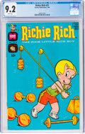 Silver Age (1956-1969):Humor, Richie Rich #21 (Harvey, 1964) CGC NM- 9.2 White pages....