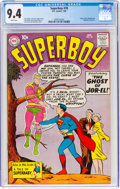 Silver Age (1956-1969):Superhero, Superboy #78 (DC, 1960) CGC NM 9.4 White pages. Or...