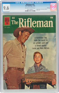 The Rifleman #10 File Copy (Dell, 1962) CGC NM+ 9.6 Off-white to white pages