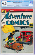 Golden Age (1938-1955):Superhero, Adventure Comics #58 (DC, 1941) CGC VF/NM 9.0 Off-white pages....