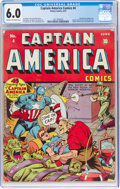 Golden Age (1938-1955):Superhero, Captain America Comics #4 (Timely, 1941) CGC FN 6.0 Cream to off-white pages....