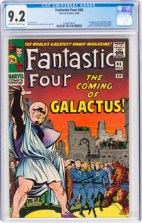 Fantastic Four #48 (Marvel, 1966) CGC NM- 9.2 Off-white to white pages