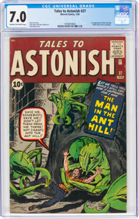 Tales to Astonish #27 (Marvel, 1962) CGC FN/VF 7.0 Cream to off-white pages