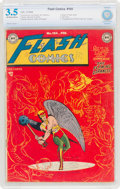 Golden Age (1938-1955):Superhero, Flash Comics #104 (DC, 1949) CBCS VG- 3.5 Off-white to white pages....