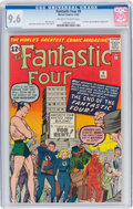 Silver Age (1956-1969):Superhero, Fantastic Four #9 (Marvel, 1962) CGC NM+ 9.6 Off-white to ...