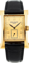 "Timepieces:Wristwatch, Patek Philippe, Fine Limited Edition ""Pagoda"" 18k Yellow Gold, Ref. 5500J, Circa 1997. ..."