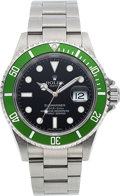 "Timepieces:Wristwatch, Rolex, 50th Anniversary Submariner ""Kermit"", Ref. 16610LV, Oyster Perpetual Date, Circa 2005. ..."