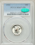 Mercury Dimes: , 1941 10C MS67+ Full Bands PCGS. CAC. PCGS Population: (363/14 and 39/3+). NGC Census: (328/7 and 7/0+). CDN: $120 Whsle. Bi...