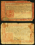 Pennsylvania April 10, 1777 4s Red and Black Very Good; Pennsylvania April 10, 1777 4L Red and Black Very Good. ... (Tot...
