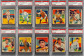 Baseball Cards:Lots, 1934-36 Diamond Stars PSA NM-MT 8 Collection (10)....