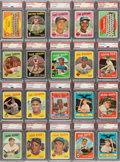 Baseball Cards:Sets, 1959 Topps Baseball PSA Graded Complete Set (572), With No Cards Graded Below PSA NM 7. ...
