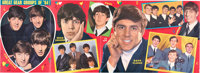 The Beatles Poster Gear Groups of 1964 with Original Bag (UK)
