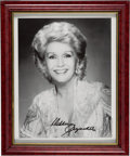 Movie/TV Memorabilia:Autographs and Signed Items, Debbie Reynolds Signed Picture....