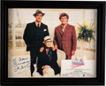 Movie/TV Memorabilia:Autographs and Signed Items, Julie Andrews Signed and Inscribed Victor Victoria Promo Ad (1982)....