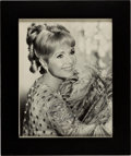 Movie/TV Memorabilia:Autographs and Signed Items, Debbie Reynolds Signed and Inscribed Photo....