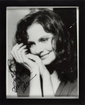 Movie/TV Memorabilia:Autographs and Signed Items, Lesley Ann Warren Signed and Inscribed Photo. ...