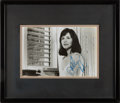 Movie/TV Memorabilia:Autographs and Signed Items, Sally Field Signed Photo....