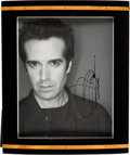 Movie/TV Memorabilia:Autographs and Signed Items, David Copperfield Signed Photo. ...