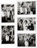 Music Memorabilia:Photos, The Beatles All You Need Is Love (5) Photographs from the Original Negative (June 25th, 1967). . ...