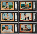 Baseball Cards:Sets, 1955 Bowman Baseball Complete Set (320) with Wrapper....