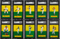 Baseball Cards:Sets, 1964 Topps Stand Up Baseball Complete Set (77). ...