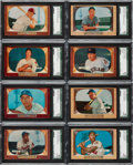 Baseball Cards:Sets, 1955 Bowman Baseball Complete Set....