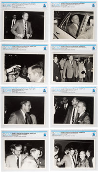 Giant Leap World Tour, 10/06 (Spain): Eight Photographs of the Neil Armstrong on His Visit to the Madrid, Spain Directly...