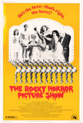 Movie/TV Memorabilia:Posters, The Rocky Horror Picture Show Style B Promo Poster (1975)....