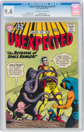 Silver Age (1956-1969):Science Fiction, Tales of the Unexpected #71 (DC, 1962) CGC NM 9.4 Off-white to white pages....