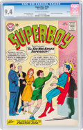Silver Age (1956-1969):Superhero, Superboy #104 Circle 8 Pedigree (DC, 1963) CGC NM 9.4 Off-white to white pages....