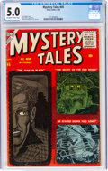 Silver Age (1956-1969):Horror, Mystery Tales #45 (Atlas, 1956) CGC VG/FN 5.0 Off-white to white pages....