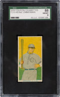 Baseball Cards:Singles (Pre-1930), 1919 T213 Coupon Cigarettes (Type 3) Heinie Zimmerman SGC 88 NM/MT 8 - Pop One, None Higher! ...